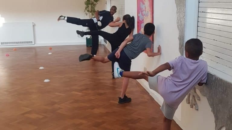 MMARAP team stretch